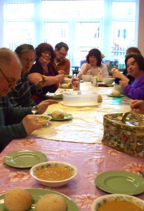 The day we made bread and vegetal soup…it was soup-ah!